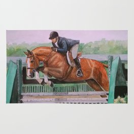 Hunter Over Fences chestnut mare Rug