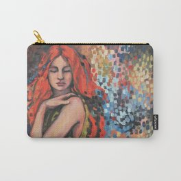 The Green Dress by Kim Marshall Carry-All Pouch