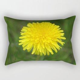 Yellow Dandilion Rectangular Pillow