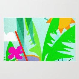 Tropical Vibes 2 Rug