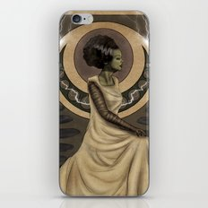 Bride of Frankenstein Nouveau iPhone & iPod Skin