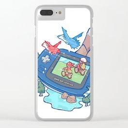 Pocket Monster V3 - The Legend Lives Clear iPhone Case