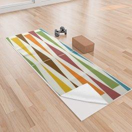 Mid-Century Modern Art 1.4 Yoga Towel