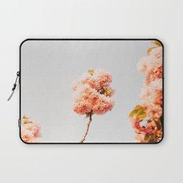 Pillars Of Pastel Pink Flowers Romantic Vintage Florals Laptop Sleeve