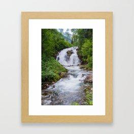 Fairy Creek Falls Framed Art Print