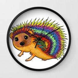 Miss Harriet Hedgehog Wall Clock