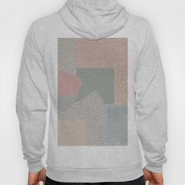 Pastel colored checkered background with paper texture Hoody