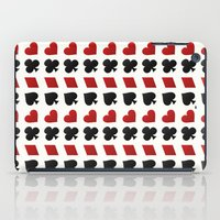suits iPad Cases featuring Card Suits by •ntpl•