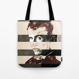 Egon Schiele's Self Portrait & Anthony Perkins Tote Bag