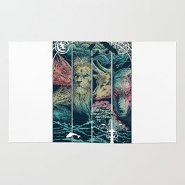 Game of Animals Rug