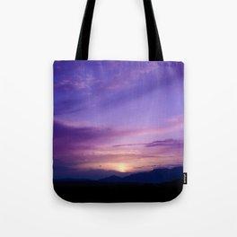 SW Mountain Sunrise - 7 Tote Bag