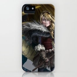 astrid & stormfly HOW TO TRAIN YOUR DRAGON 2 iPhone Case