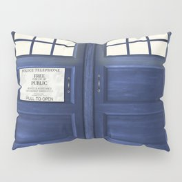 Tardis Doors Pillow Sham