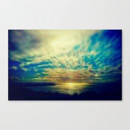 WOOLACOMBE ARTISTIC Canvas Print
