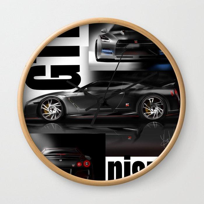 Supercar Wall Clock