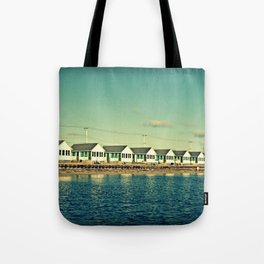Days Cottages, North Truro Tote Bag