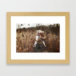 Run..... Framed Art Print
