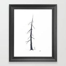 hewalk/see Framed Art Print