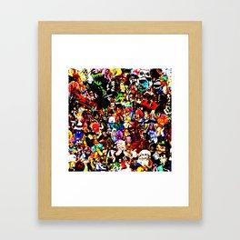 One Piece Framed Art Print