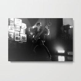 The Used Metal Print