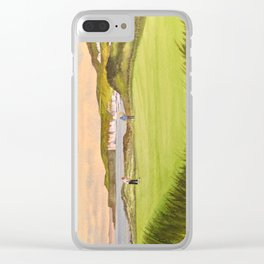 Royal Portrush Golf Course 5th Hole Clear iPhone Case