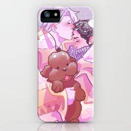 Viktuuri winter hug iPhone Case