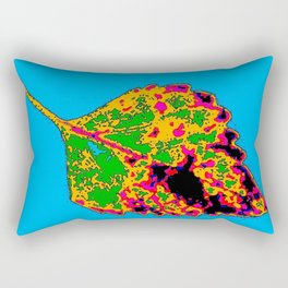 coleus leaf 8 Rectangular Pillow