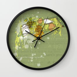 LUNCH LINE Wall Clock