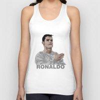ronaldo Tank Tops featuring Cristiano Ronaldo by siddick49