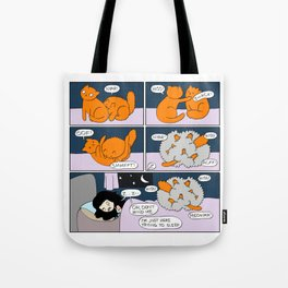 Midnight Brawl Tote Bag