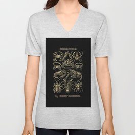 """""""Decapoda"""" from """"Art Forms of Nature"""" by Ernst Haeckel Unisex V-Neck"""