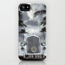 Vintage Car Photography | Palm Trees | California Vibes iPhone Case