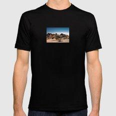 Desert Rocks Mens Fitted Tee MEDIUM Black