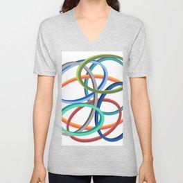 Circle circle Unisex V-Neck