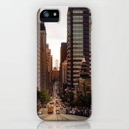 Lingering in San Francisco iPhone Case
