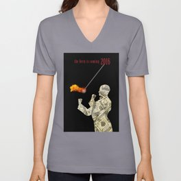 the bern is coming Unisex V-Neck