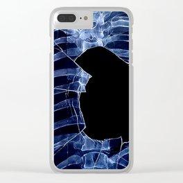Stolen Heart Clear iPhone Case