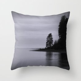 Monochrome Dream Throw Pillow