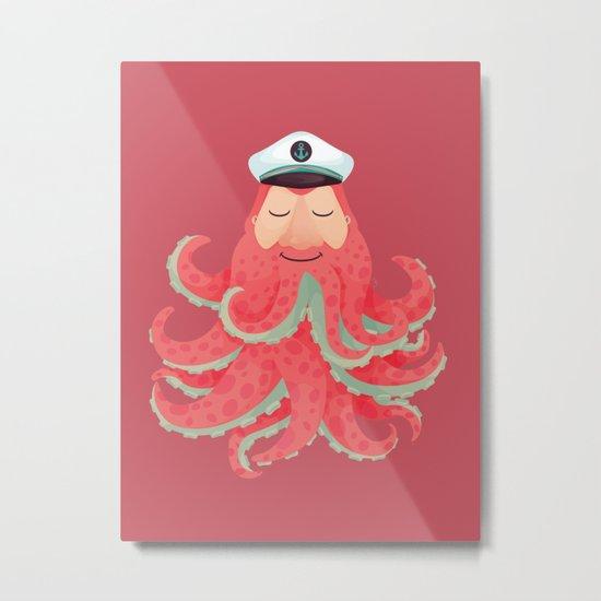 Lord Sailor Cthulhu Metal Print