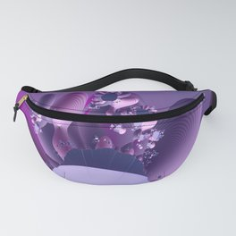 Abstract cactus blooming Fanny Pack