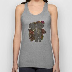 Walking in paradise Unisex Tank Top