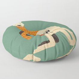 Hello Kangaroo Floor Pillow