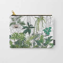 greenhouse illustration Carry-All Pouch