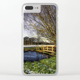 The Brook at Tidmarsh Clear iPhone Case