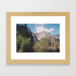 Focus on Falling Framed Art Print