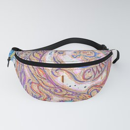 Freedom, Wisdom and Strength with Dragon in Russian Fanny Pack