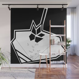 hoja de maple Wall Mural