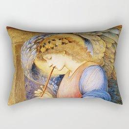 Angel Gabriel Antique Spiritual art Rectangular Pillow
