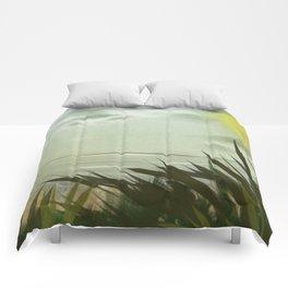 Digital Painting, Pastel Landscape Comforters