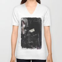 lydia martin V-neck T-shirts featuring Lydia by Tom Melsen